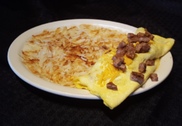 #13 Sausage & Cheese Omelet