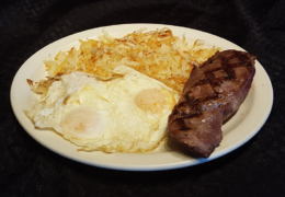 #1 Top Sirloin Breakfast Combo