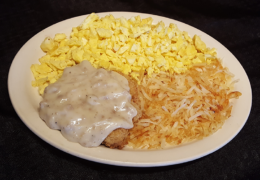 #6 Country Fried Steak Combo