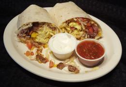 #8 Jumbo Breakfast Burrito
