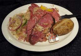 Beef Brisket & Kraut Dinner