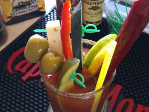 Eagle's Nest Bloody Mary Bar every Saturday!