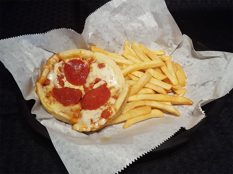 Kid's Pepperoni Pizza & Fries
