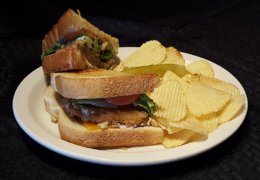 Hungry Man Chicken Fried Steak Sandwich