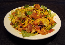 Spicy Chicken Santa Fe Salad